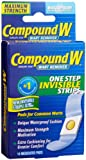 Compound W Wart Remover, One Step Invisible Strips, 14 ct