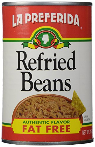 La Preferida Refried Beans, Fat Free, 16 oz by La Preferida