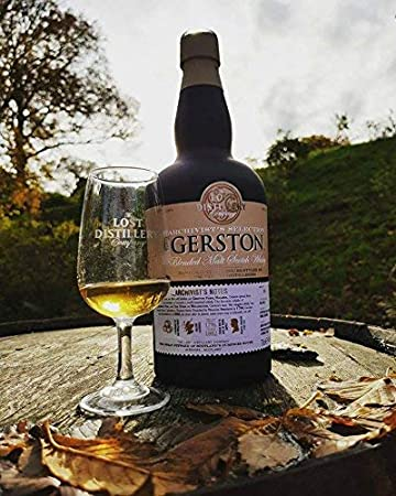 Gerston Archivist's Selection from The Lost Distillery Company. 700ml, 46% Abv, Non Chill Filtered, Blended malt Scotch Whisky. Smoky and salty Highland style. Lost Scotch Whisky Legends Reborn.