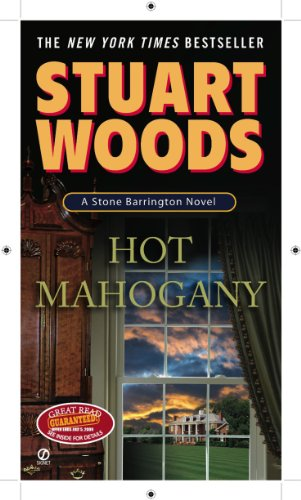 Hot Mahogany (Stone Barrington Book 15) cover