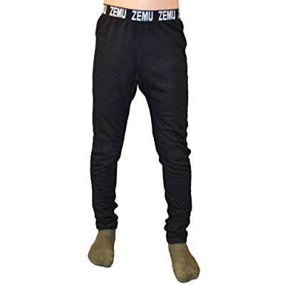 Zemu Youth Solid First Layer Pant