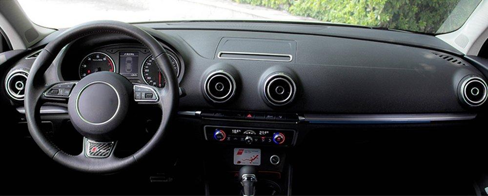 Car Air Conditioning Outlet Decoration Sequin Frame For Audi A3 8V Sedan Cabriolet Sportback S3 2013-2016
