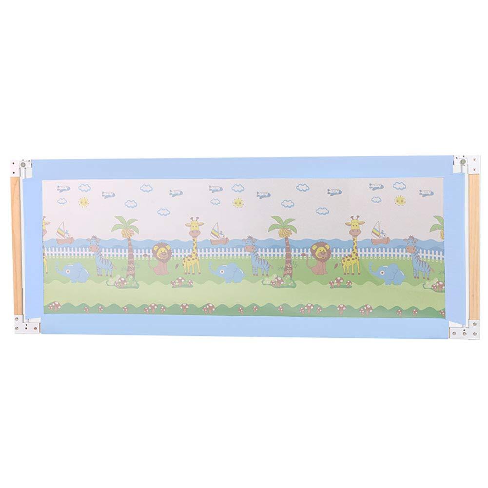 正規激安 ベビーサークル 幼児子供、漫画の床の赤ちゃんベビーサークルプレイヤード、調節可能な高さ0-96 cmのための木の特別に長い安全ベッドレールガード : (色 : さいず 青, サイズ : さいず : 2.0M) 2.0M 青 B07MXZ8NV5, イブスキグン:0e04be73 --- a0267596.xsph.ru