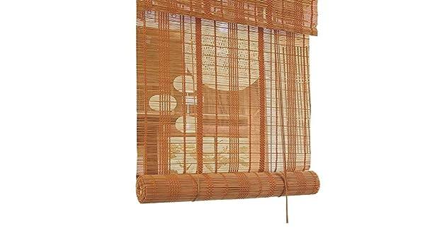Estor enrollable de montaje exterior, cortinas enrollables para balcón para terraza, cenador, pérgola, balcón, 80 cm/90 cm/100 cm/110 cm/120 cm/135 cm (tamaño: 110 x 135 cm): Amazon.es: Hogar
