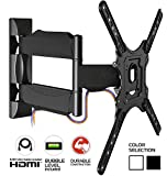 ONKRON TV Wall Mount Bracket for 32 to 55-inch LED LCD HD Flat Screens Black (M4)