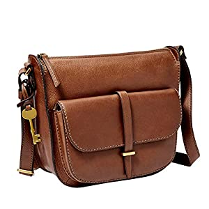 Fossil Women's Ryder Leather Crossbody Purse Handbag