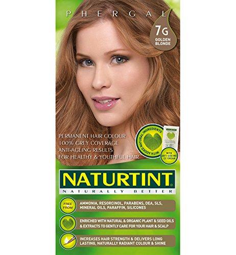 Naturtint Hair Color Permanent, 7G Golden Blonde, 5.6 Ounce (Best Medium Blonde Hair Color)