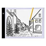 Cidere Ultra-Thin LED Painting Board Copy Station LED Drawing Board Lighted Tracing Box for Adults Kids Sketching, Designing