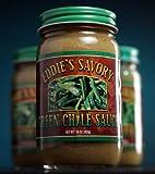 Eddie's Savory Hot New Mexico Green Chile Sauce-6 Jars