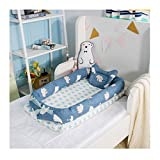 Baby Portable Travel Bed Side Sleeper for 0-24 Months Newborn Baby (Bear)