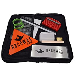 RaceWax Quick Tune Ski Snowboard Wax Tuning Kit