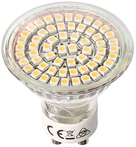 SEBSON 4er Pack LED Lampe GU10 warmweiß 3,5W, ersetzt 35W Halogen, 300 Lumen, GU10 LED Strahler 230V, LED Leuchtmittel 110°