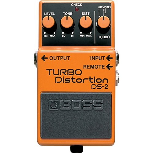 Twin Turbo Bass (Boss DS-2 Turbo Distortion Pedal with Remote Jack)