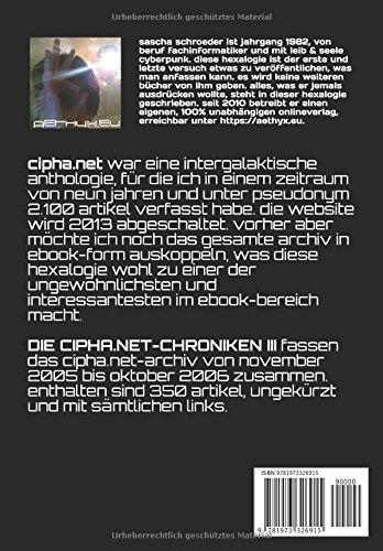 DIE-CIPHANET-CHRONIKEN-III-eine-intergalaktische-cyberpunk-anthologie-German-Edition