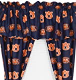 Auburn Tigers Collegiate Curtains - NCAA Window Treatment
