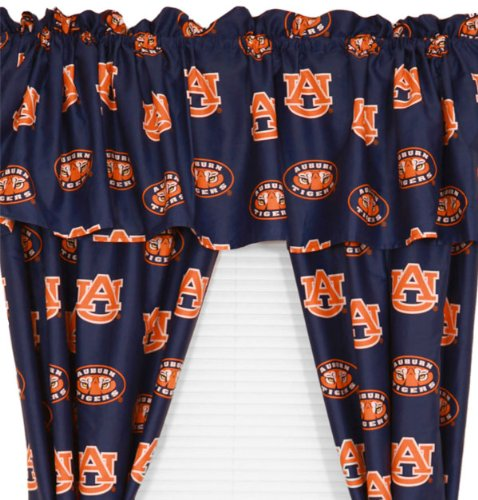 Tigers Window Curtain - Auburn Tigers Collegiate Curtains - NCAA Window Treatment