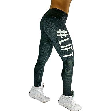 7b956e2ca0c2 Nlife Frauen Mode Sport Leggings Brief Print Multicolor Fitness Running  Hosen High Elastic Yoga Hosen
