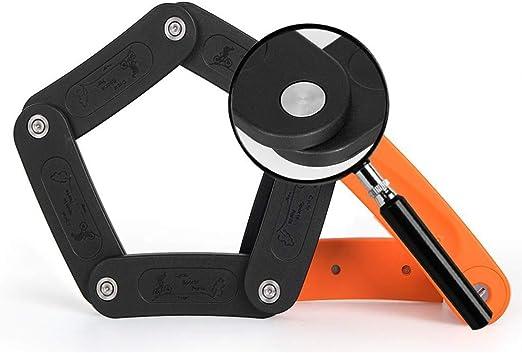 DECJ Bloqueo De Bicicletas Articulaciones De Acero Plegables ...