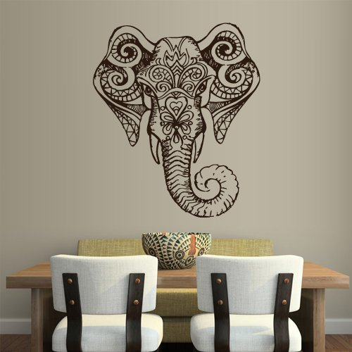 Wall Vinyl Sticker Decals Decor Art Bedroom Design Mural Ganesh Om