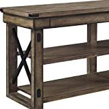 Ameriwood Home Wildwood Wood Veneer TV Stand for