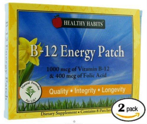 Витамин B12 Patch (16 Патчи)