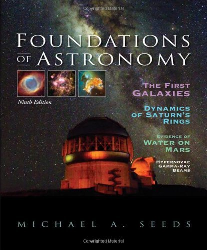 By Michael A. Seeds Foundations of Astronomy (with AceAstronomy(TM), Virtual Astronomy Labs Printed Access Card) (9th Edition) ebook