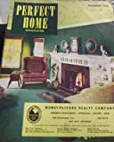 Perfect Home Vintage Realestate Ad Magazine