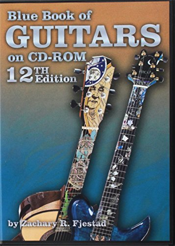 Blue Book of Guitars on CD-ROM: Contains the 12th Edition of Blue Book of Acoustic Guitars and Blue Book of Electric Guitars, CD-ROM