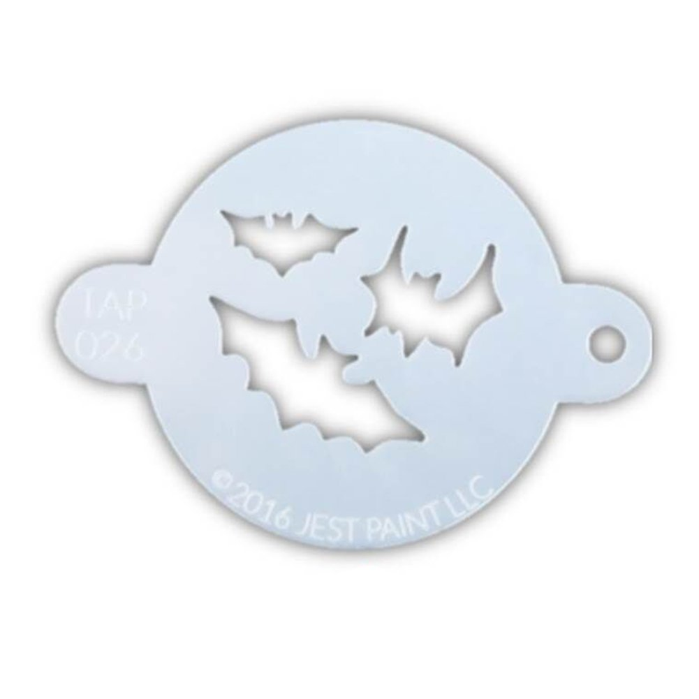 TAP 059 Face Painting Stencil - Fish Scales TAP Stencils