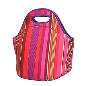 elaco neopreno almuerzo bolsa térmica resistente al agua caja de almuerzo para las mujeres adultos niños