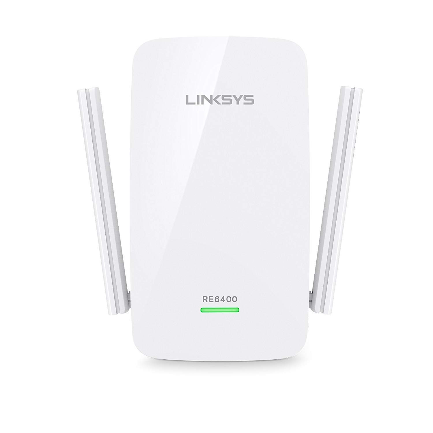 Linksys AC1200 Boost EX Dual-Band Wi-Fi Range Extender (RE6400) (Renewed) by Linksys