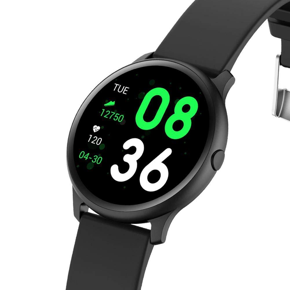 Amazon.com: Smartey KW19 Smart Watch Women Heart Rate ...