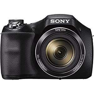 Sony Cyber-shot DSC-H300 20.1 MP Digital Camera – Black (Renewed)