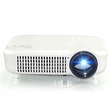 QTDH Proyector Inteligente HD, 3500 Lúmenes Y Full HD 1080p ...