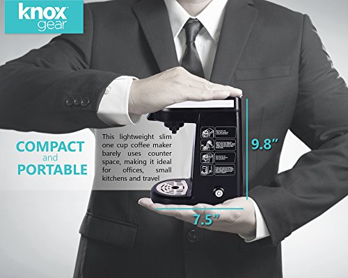 Knox Compact Travel Size K-Cup Coffee Brewer by Knox (Image #3)