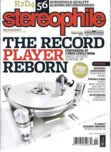 - Stereophile Magazine (February 2016)