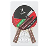 Rymora Table Tennis 2 Player Set for Advanced Play (6-Star Bats and 3-Star Balls)