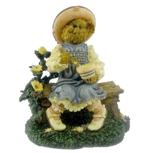 Boyds Bears Resin Lil' Miss Muffet What's In The Bowl Fairy Tale Bearstone - Resin 4.00 IN