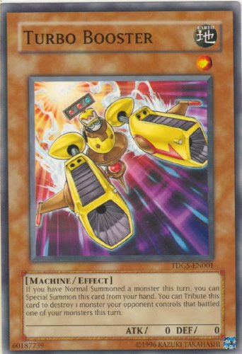 Yu-Gi-Oh! - Turbo Booster (TDGS-EN001) - The