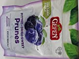 Gefen Pitted Dried Sweet Prunes Kosher For Passover 10 Oz. Pk Of 3.