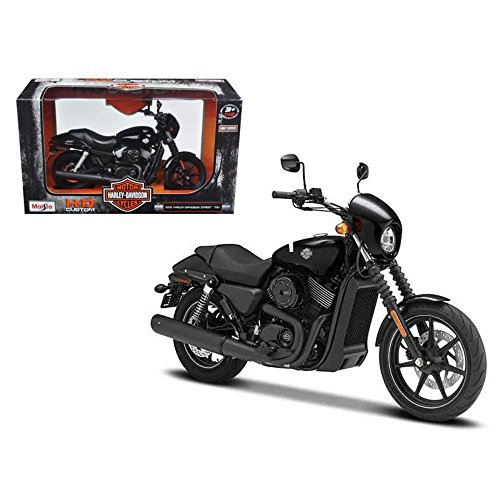 Maisto 32333 2015 Harley Davidson Street 750 Motorcycle Model 1/12