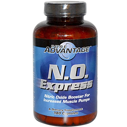 Pure Advantage, N.O. Express, Nitric Oxide Booster, 180 Capsules - 2pc