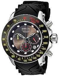 Invicta Men's 22142 Reserve Analog Display Swiss Quartz Black Watch
