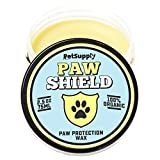 Organic Paw & Nose Balm for Dogs - 100% Natural Paw Protection and Treatment Wax for Cracked Paw Pads - Cream Moisturizer and Soother Heal Pet Paws - Winter and Snow Protector for Dog
