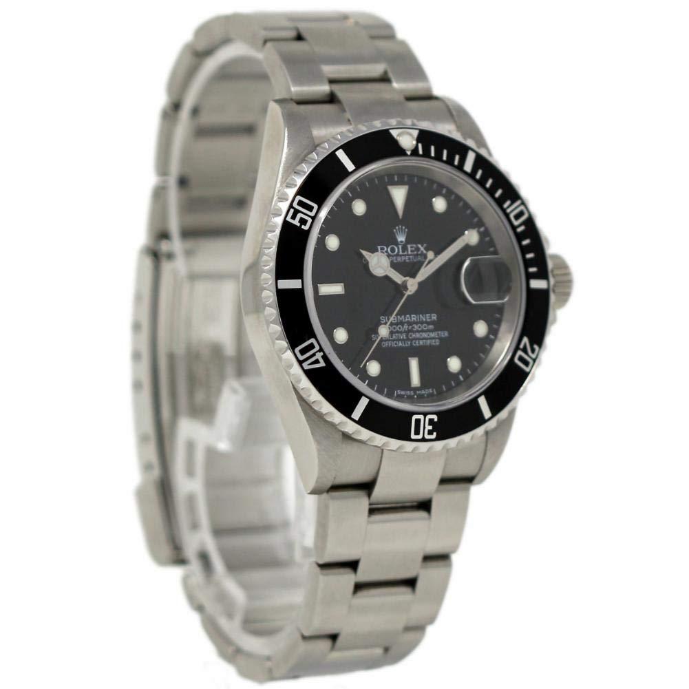 Rolex Submariner swiss-automatic Mens Reloj 16610 (Certificado) de segunda mano: Rolex: Amazon.es: Relojes