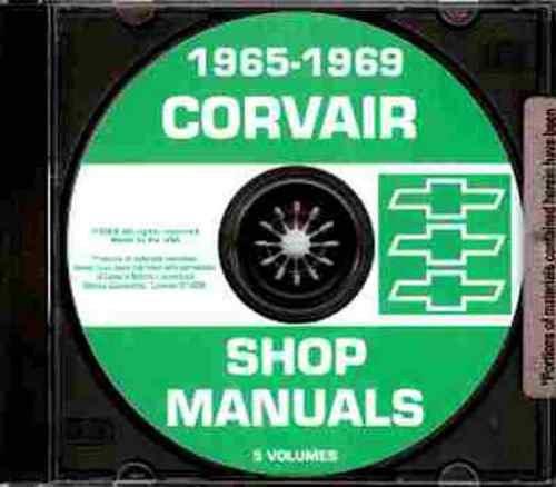 1965-1969 Corvair and Monza CD Repair Shop Manual