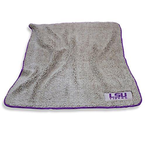 Logo Brands LSU Tigers Frosty Fleece Blanket ()