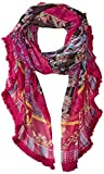Collection XIIX Women's Batik Patchwork Printed Oversized Wrap, Multi, One Size