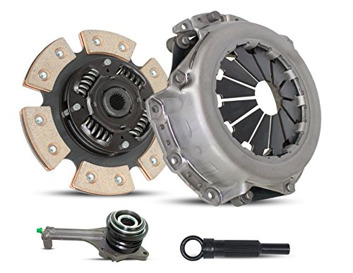 Clutch Kit Works With Mitsubishi Lancer Es Ls Oz Rally Sedan 4-Door 2002-2003 2.0L L4 GAS SOHC Naturally Aspirated (2.0L All Models; 6-Puck Clutch Disc Stage 2)