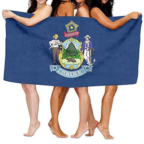 Beach Towel Flag Of Maine 80